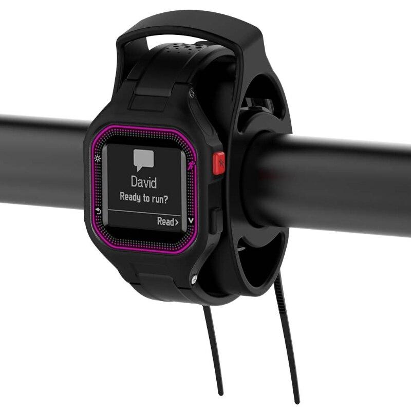 2019 New Bike Handlebar Watch Mount Kit Holder For Garmin Forerunner TOMTOM POLAR Fitbit new garmin watch 2019