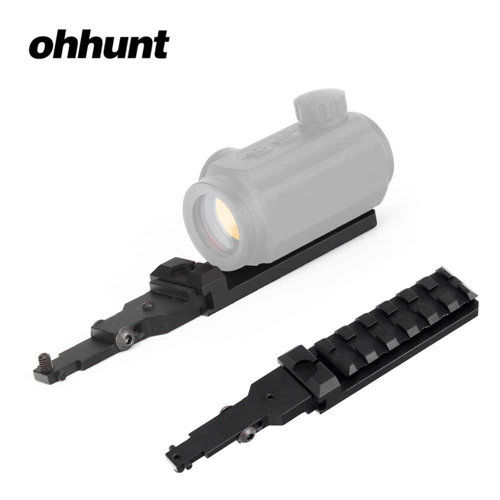 Tactical ohhunt Mini Red Dot Sight Mount with Integral Rear