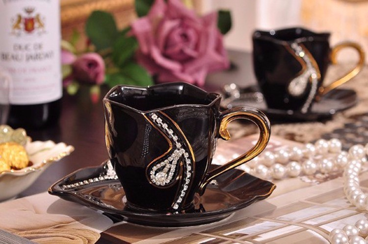 Diamonds Design Coffee Mug 2