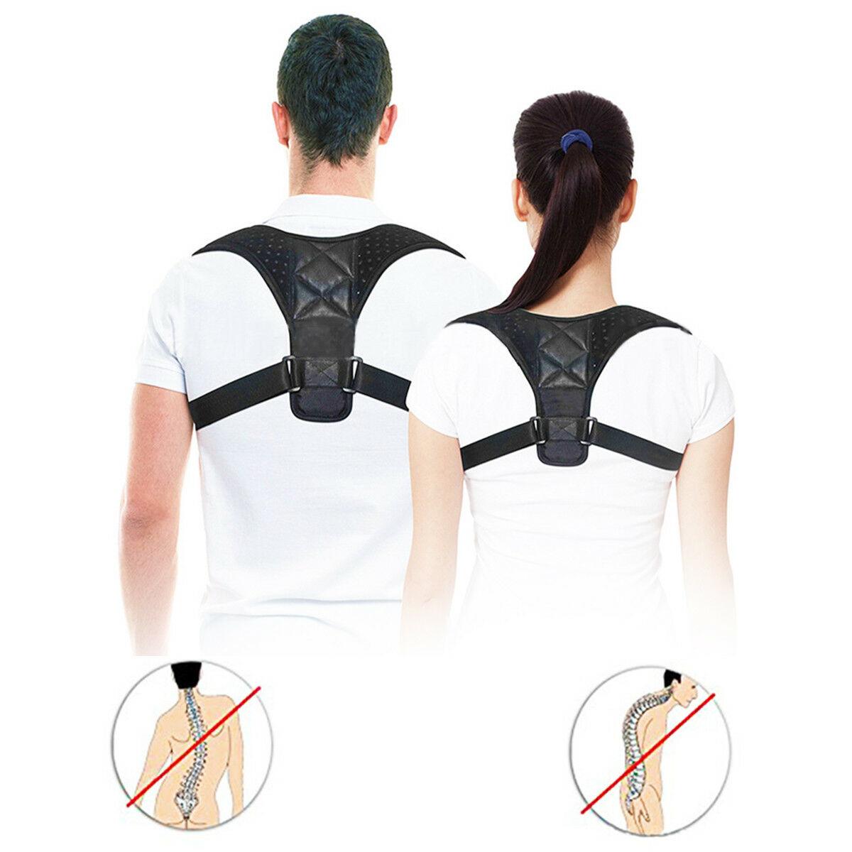 2019 Hot Adult Children Body Wellness Posture Corrector Support Adjustable Corset Orthopedic Back Shoulder Correct Brace Belt