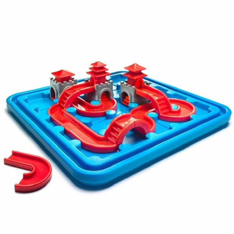 IQ jouets pour enfants blocs de connexion 80 défi avec Solution famille logique jeux de pensée Jouet Enfant Intelligent