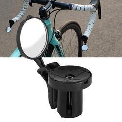 1 szt. Lusterko rowerowe Mini lusterko wsteczne do roweru szosowego niezniszczalny obrotowy lusterko wsteczne boczne lusterko kierownicy w Lusterka rowerowe od Sport i rozrywka na