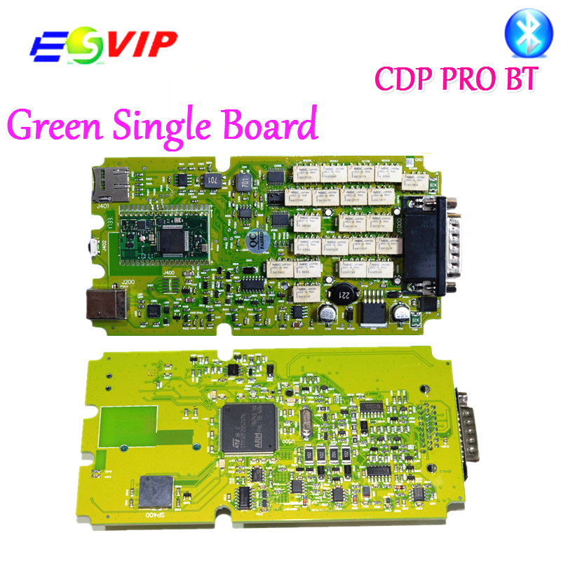 A++ quality Single Board TCS CDP PRO PLUS 2016.00 newest cdp pro for +Generic 3 in 1 New NEC Relays bluetooth 2015.R3 obd tool