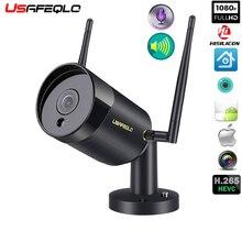 USAFEQLO, 1080 P, два способа записи аудио, проводная, Wifi камера, водонепроницаемая, ночное видение, 2 МП, беспроводная камера, обнаружение движения, слот для sd-карты