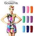 2017 Fashion Neon Nail Gel Polish Soak Off UV Colorful Nail Colors Art For gel nail polish Long-lasting Gel