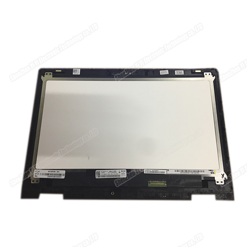 Original 13.3 Inch For Dell Inspiron 13 5000 Series Cube 5368 5378 P69g Assembly B133HAB01.0 With Touch Screen 1920 * 1080 LCD