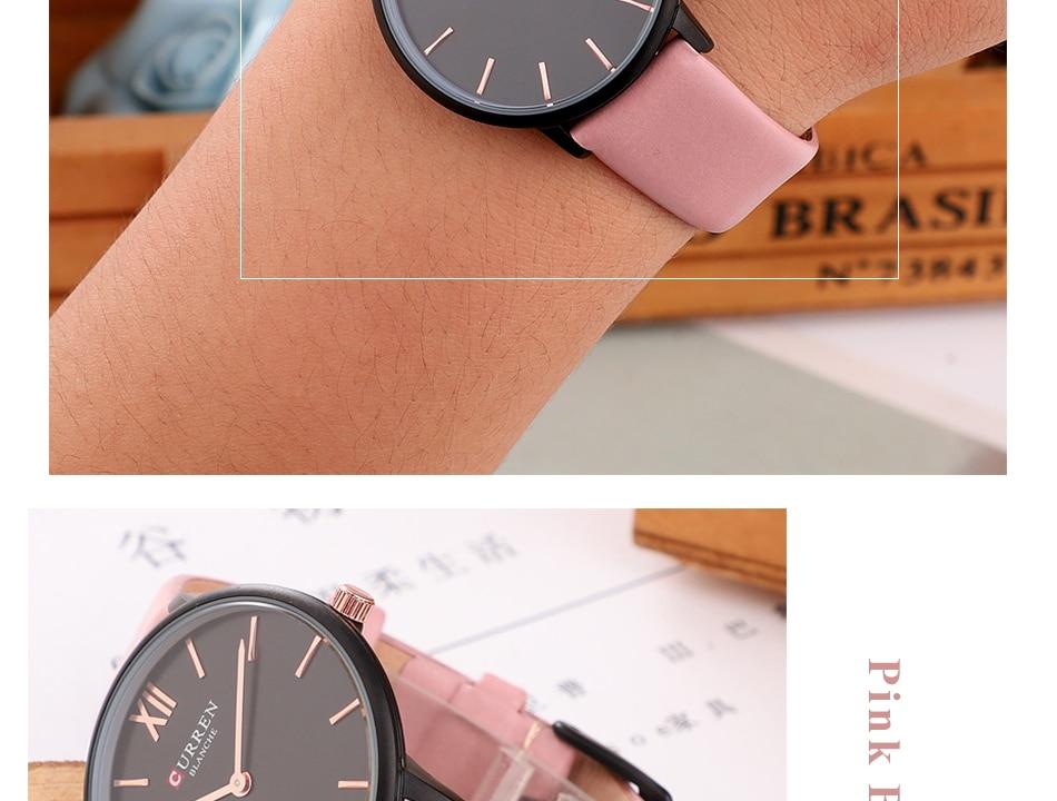 CURREN 9040 PU Leather Analog Watch 11