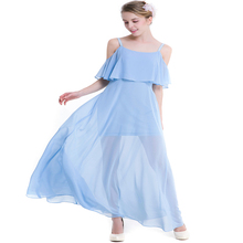 Womens new solid color sling strapless sweet Slim slimming dress fashion holiday beach party