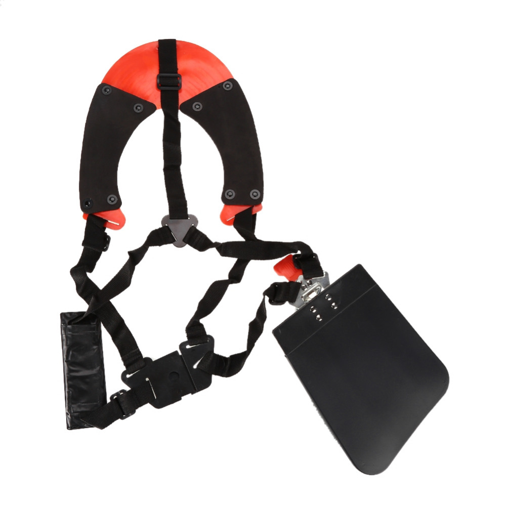 Pole Saws Universal Trimmer Double Shoulder Strap Mower Nylon Y-shaped Belt For Brush Cutter Garden Tool Garden Tools