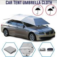 Full Automatic Car Umbrella Sun Shade Outdoor Car Vehicle Tent Umbrella Sunshade Roof Cover Waterproof Anti UV Cloth no stand