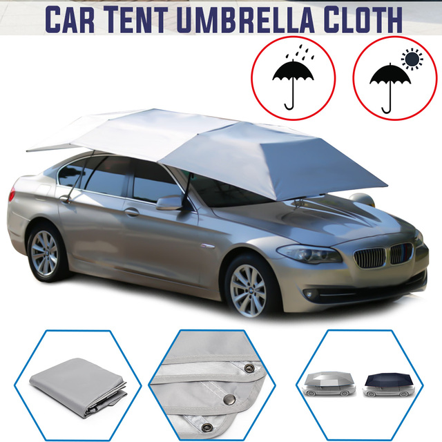 Full Automatic Car Umbrella Sun Shade Outdoor Car Vehicle Tent