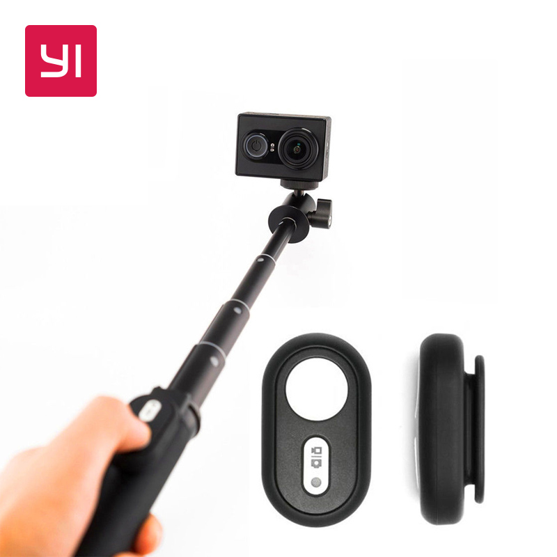yi selfie stick bluetooth remote for yi action camera camera in selfie sticks from consumer. Black Bedroom Furniture Sets. Home Design Ideas
