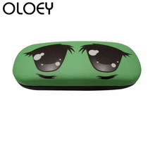 OLOEY 2018 High Quality Sunglasses Glasses Case Cute Cartoon Leather Men Women Reading Box Optical Accessories