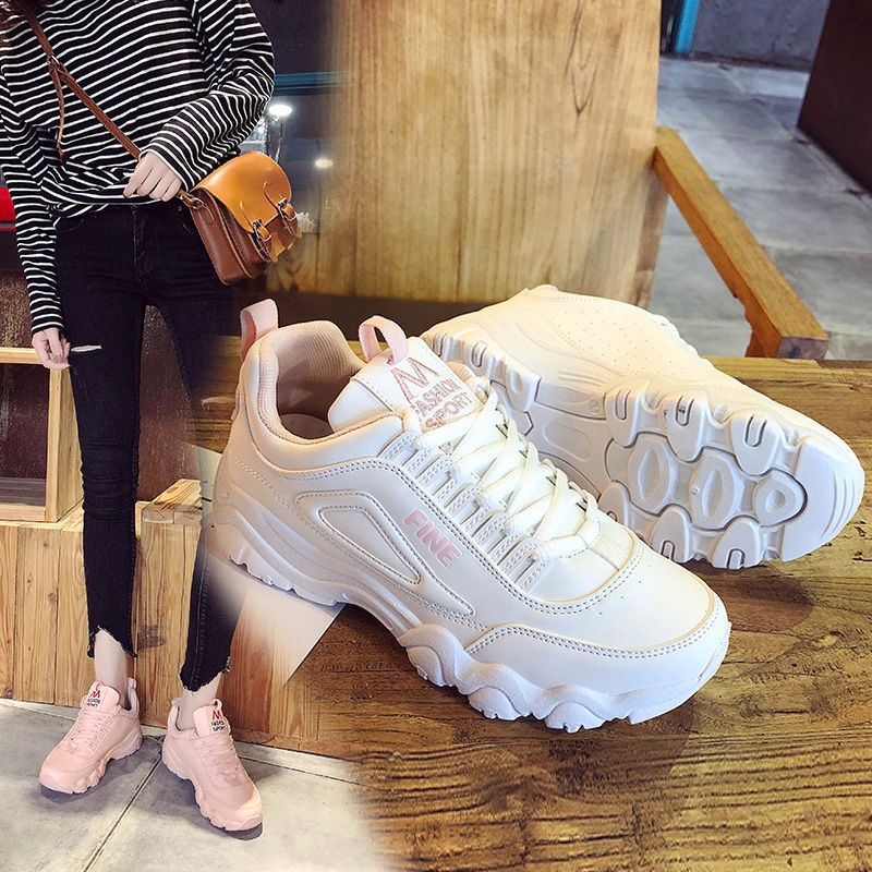Grueso as Aire Sneakers Ins Casual S Niñas Paltform Para Triple 2018 Papá Mujeres Photo As Photo Zapatos Malla Flat Inferior qxvUCE4Iw