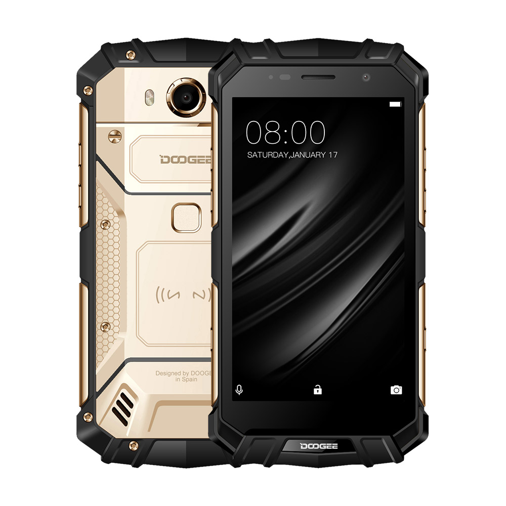 Real IP68 DOOGEE S60 Wireless Charge 5580mAh 12V2A Quick Charge 5 2 FHD Helio P25 Octa