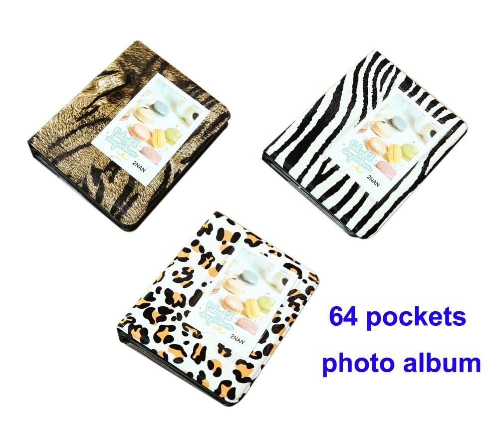 Quality Photo Albums: High Quality 64 Pockets Photo Album For Mini Fuji Instax