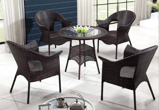 Balkonstühle freeshipping nachahmung rattan gartenmöbel cany stuhl tea table set