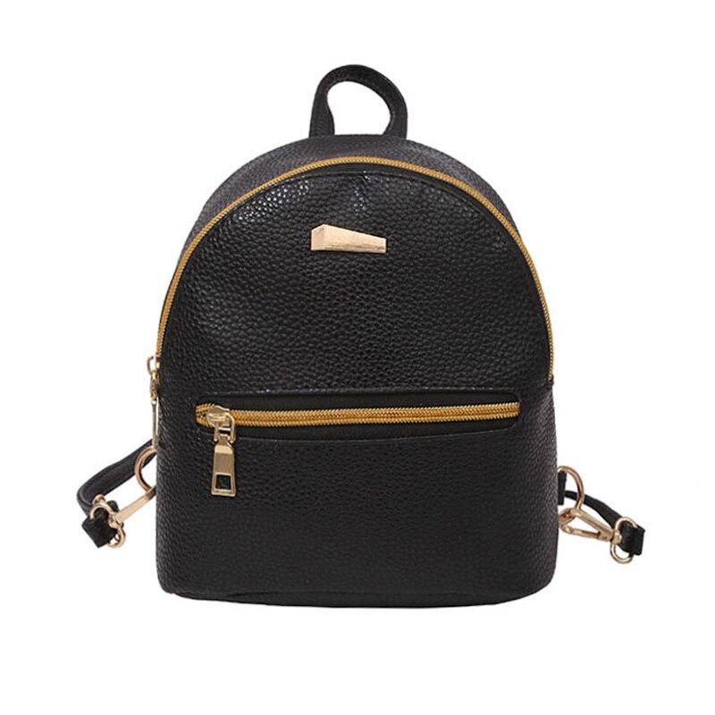 Casual fashion Women Mini Backpack PU Leather College Shoulder Satchel School Rucksack Bag 88 Best Sale-WTCasual fashion Women Mini Backpack PU Leather College Shoulder Satchel School Rucksack Bag 88 Best Sale-WT