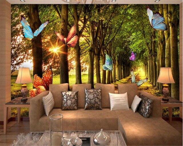 https://ae01.alicdn.com/kf/HTB1WcyzXwvGK1Jjy0Fgq6x9hFXab/Beibehang-Hoge-niveau-interieur-schilderij-interieur-behang-persoonlijkheid-woods-grove-ochtendlicht-vlinder-vliegende-3d-behang.jpg_640x640.jpg