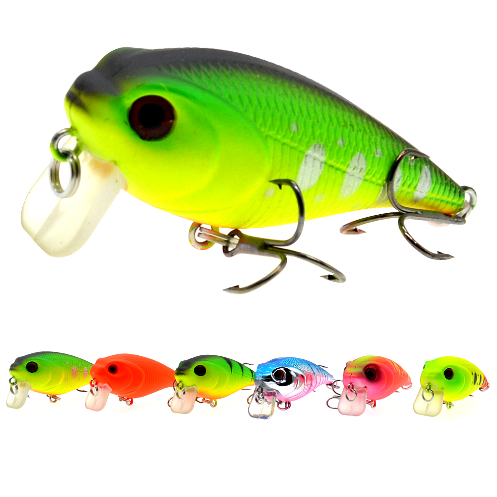 55mm 9g Custom Wholesale Plastic Hard Body Lures Artificial Bait Japan Crankbait Fishing Lure Pesca-in Fishing Lures from Sports & Entertainment