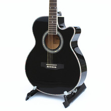 DIDUO 40 Inch Acoustic Folk 6-String Guitar for Beginners Students Gift Basswood Guitar Acoustic Guitar Black