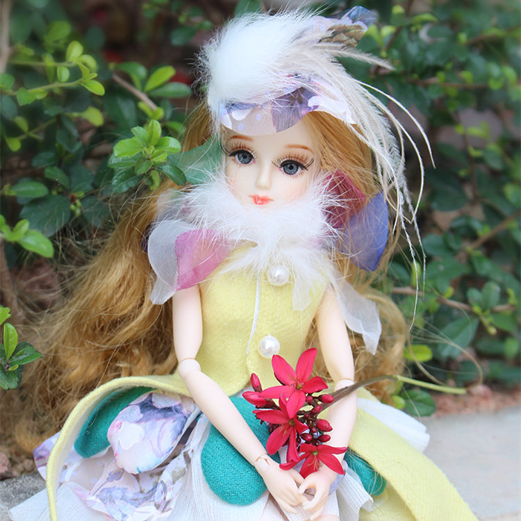 ICY Free shipping BLYTH bjd neo Fortune days fashoin flower doll Xiaojing JOINT body brown hair dress box shoes stand toy gift free shipping icy doll joint body natural skin black hair bjd toy gift bl117
