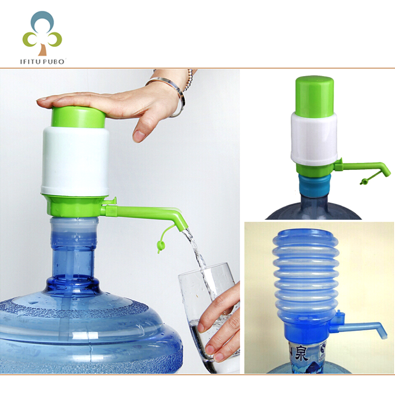 New Design 1 set Drinking Hand Press Pump for Bottled Water Dispenser Water Bottle Accessories GYH bomba para botellon de agua