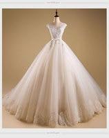 2017 새로운 하이 엔드 유럽과 미국 신부 웨딩 드레스 sweet 레이스 제나라 스티치 웨딩