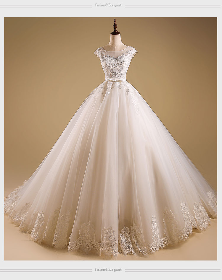 2017 new high end europe and the united states bride for High end wedding dress
