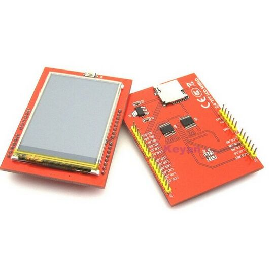 K2-02 LCD module TFT 2.4 inch TFT LCD screen for Arduino UNO R3 Board and support mega 2560 with gif Touch pen ...
