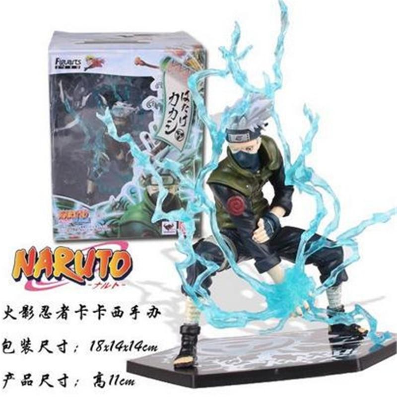 1pc/lot High Quality Naruto Actions Figures 5 Styles Anime Kakashi/Minato/Naruto Figure Toys PVC Collections 24cm naruto hatake kakashi pvc action figure the dark kakashi toy naruto figure