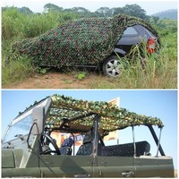 2 1 5m Outdoor Tarp Sun Shelter High Quality Awning Camping Hiking Camouflage Camo Netting For
