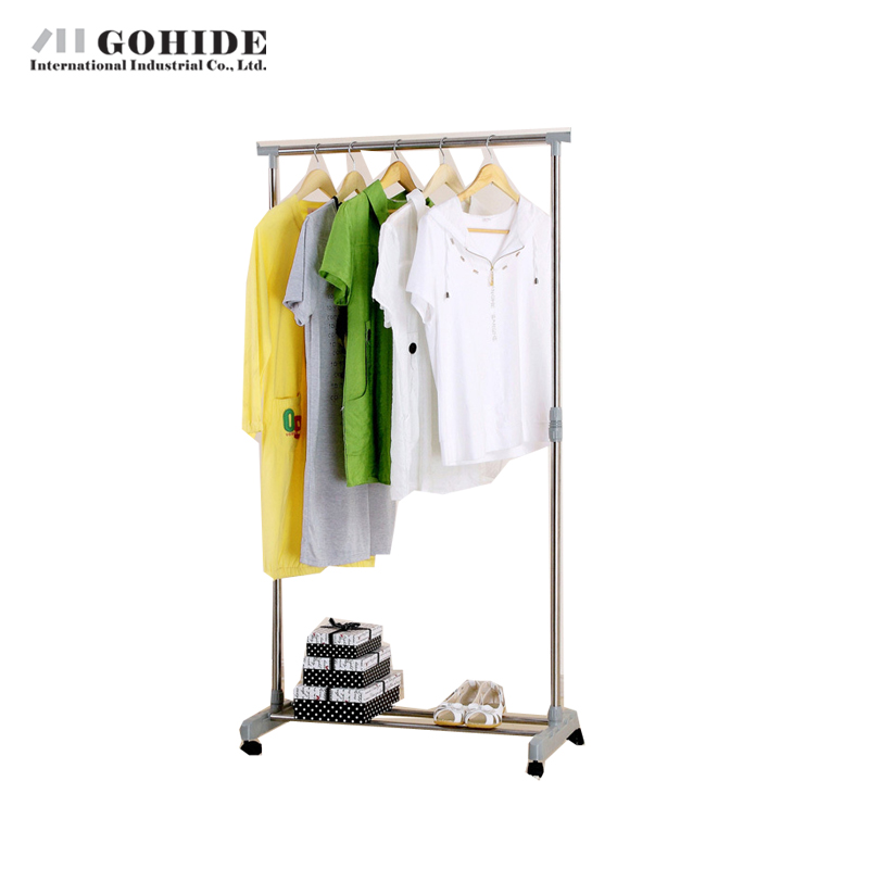 Gohide Home Furniture Hanger Floor Fashion Hangers Indoor Coatless Lift Furniture Clothes Rack Coat Racks Living Room Furniture