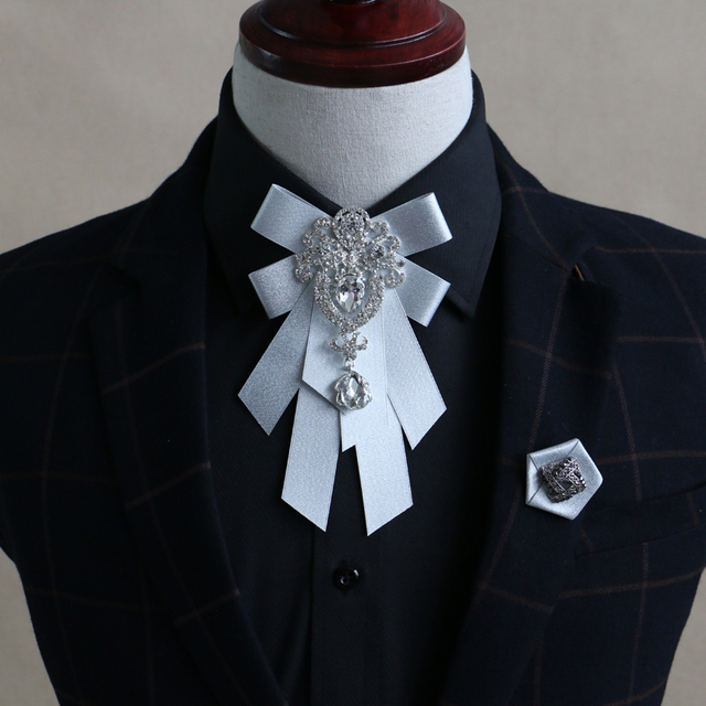 New Free Shipping Fashion Casual Men S Male Korean European Style Wedding Groom Groomsman Tie Dress Collar