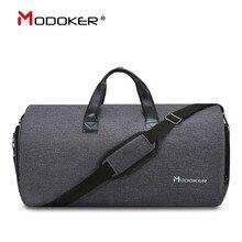 Modoker New Travel Garment Bag Shoulder Strap Duffel Bag Business Fashion Carry on Hanging Clothing Multiple Pockets
