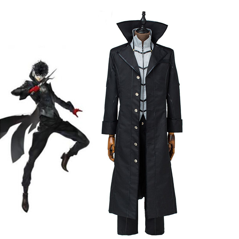 Persona 5 Joker Kaitou Cosplay Costume Game Cos Full Set Uniform Halloween Pary Cosplay Custom Made