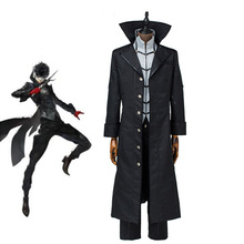 купить Persona 5 Joker Kaitou Cosplay Costume Game Cos Full Set Uniform Halloween Pary Cosplay Custom Made по цене 4817.86 рублей
