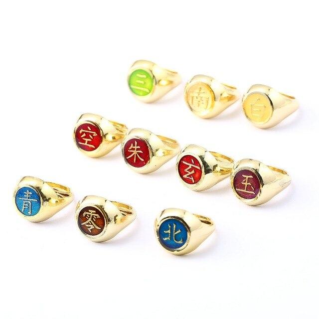 Akatsuki Rings in 10 Styles
