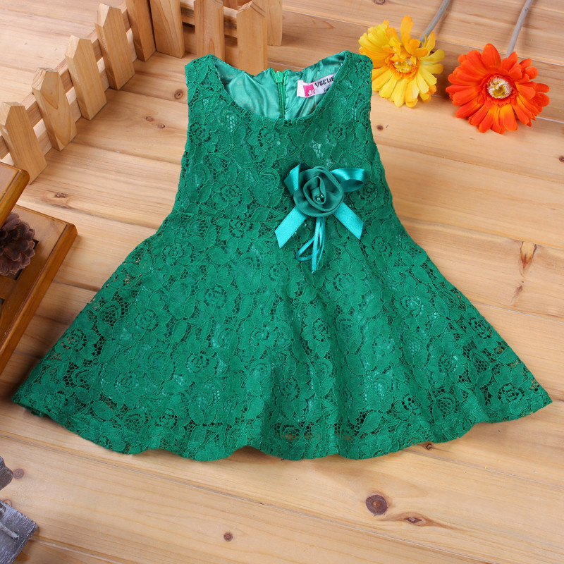 0a7af174e 2017 Summer Baby Dresses Girl Princess Dress Flower Toddler Infant Newborn  Baby Girls Party Wedding Dress Baby Lace Dress Brand
