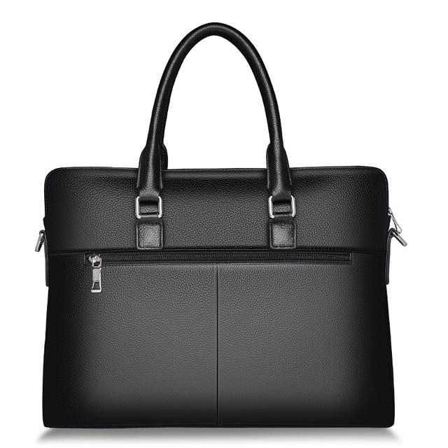 FOXER Genuine Leather Shoulder Bag