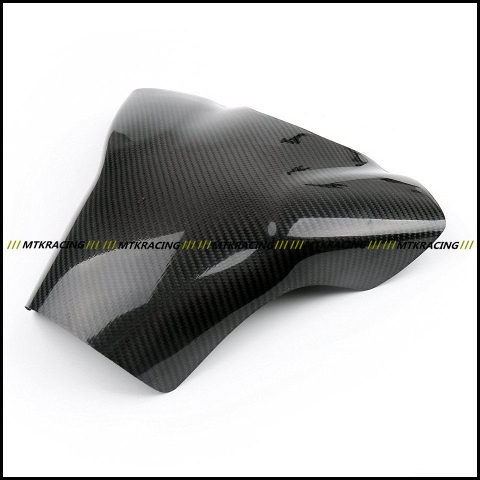 Free shipping Carbon Fiber Fuel Gas Tank Protector Pad Shield For YAMAHA YZF-R1 2007-2008 black color motorcycle accessories carbon fiber fuel gas tank protector pad shield rear carbon fiber for kawasaki z1000 03 06