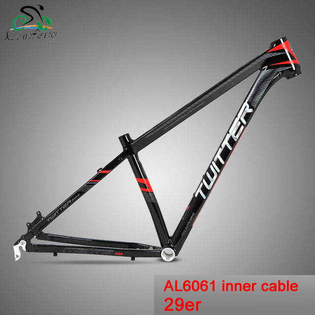 Twitter Mantis2.0 Mountain Bike Aluminum Alloy Frame 29er MTB Bicycle AL6061 15.5 17 19 inch Frame Cycling Parts hot selling