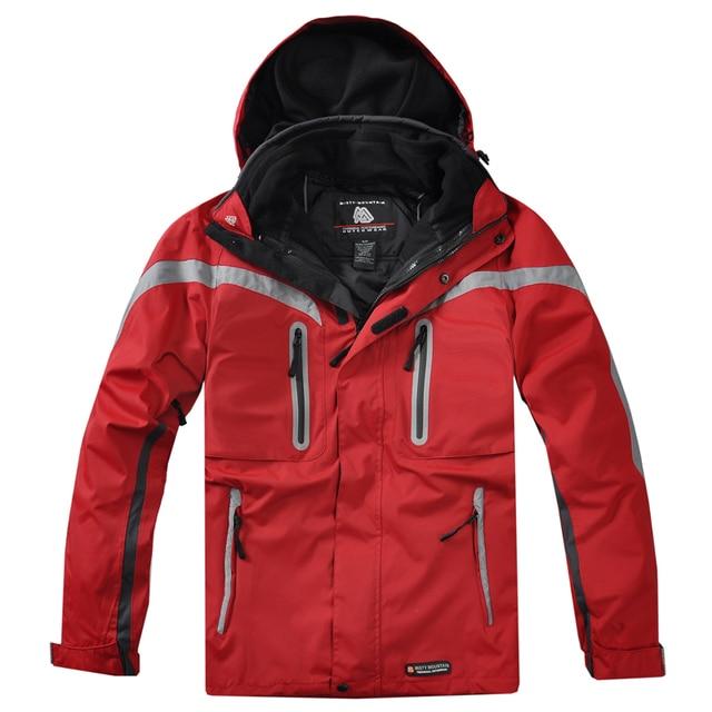 84c0ed54a6a9d Oyo outdoor misty mountain men s clothing detachable fleece liner twinset  outdoor jacket multicolor