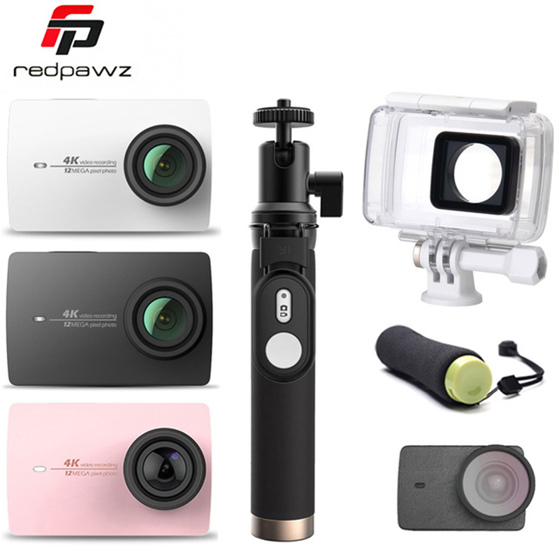 [International Edition] Xiaoyi YI 4K Action HD Camera 2 II 2.19 Retina Screen IMX377 12MP 155 Degree EIS LDC Sport Camera new original yi 4k action sport camera 4k xiaoyi 2 19 ambarella h2 for sony imx377 12mp 155 degree 4k ultra hd sports camera