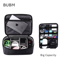 Brand Digital Accessories Storage Bag Big Capacity Handbag Cable Organizer Case Drive Disk USB Charger Adapt
