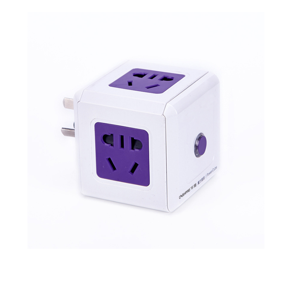 Creative Smart Cube with socket inserted row wiring board ... on