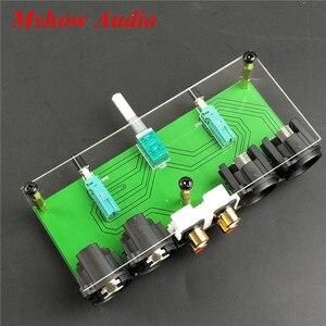 Image 4 - جديد متوازن تماما السلبي Preamp مجلس HiFi الصوت قبل مكبر للصوت XLR RCA وحدة تحكم في مستوى الصوت