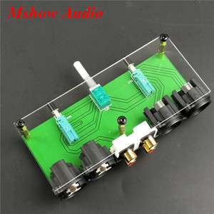 Image 4 - 새로운 완전 밸런스드 패시브 프리 앰프 보드 hifi 오디오 프리 앰프 xlr rca 볼륨 컨트롤러
