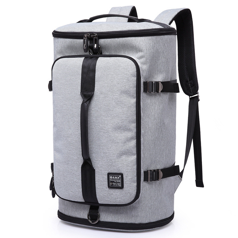 15.6 inch Backpack Men Women Large Capacity Backpack Travel Bags For Teenagers School Bags Nylon Waterproof Bucket Backpack bestlife large capacity light weight bags nylon bagpack urban travel backpack 15 6 laptop bag school bags for teenagers
