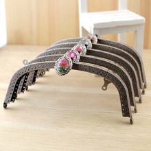 16cm exquisite arc shape Metal Purse Frame Handle for Bag Sewing Craft,Coin Purse Frames K252